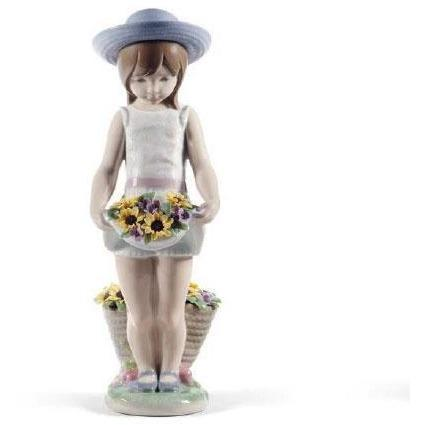 Lladro Skirt Full Of Flowers 60th Anniversary Edition 01008674