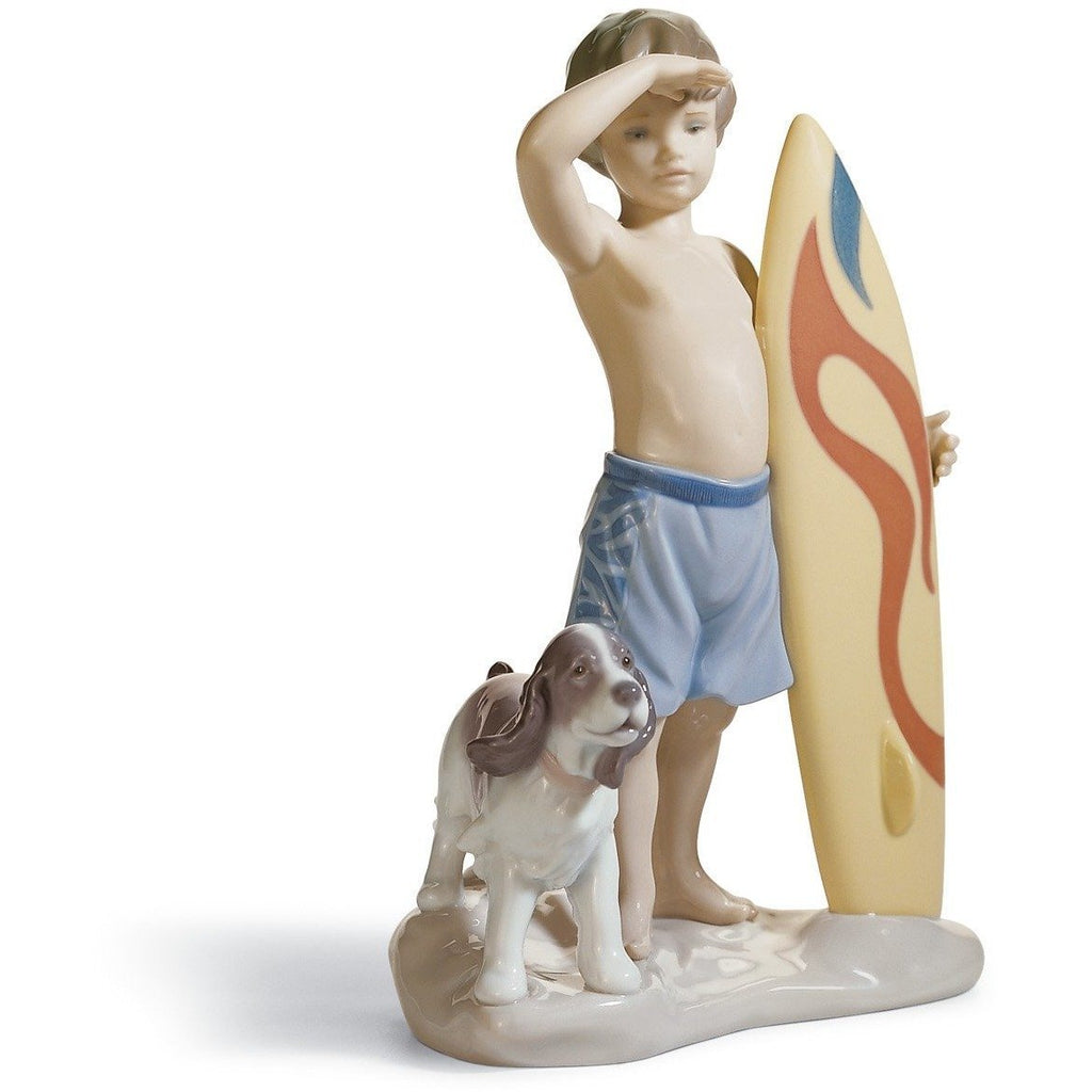 Lladro Surf's Up Figurine 01008110