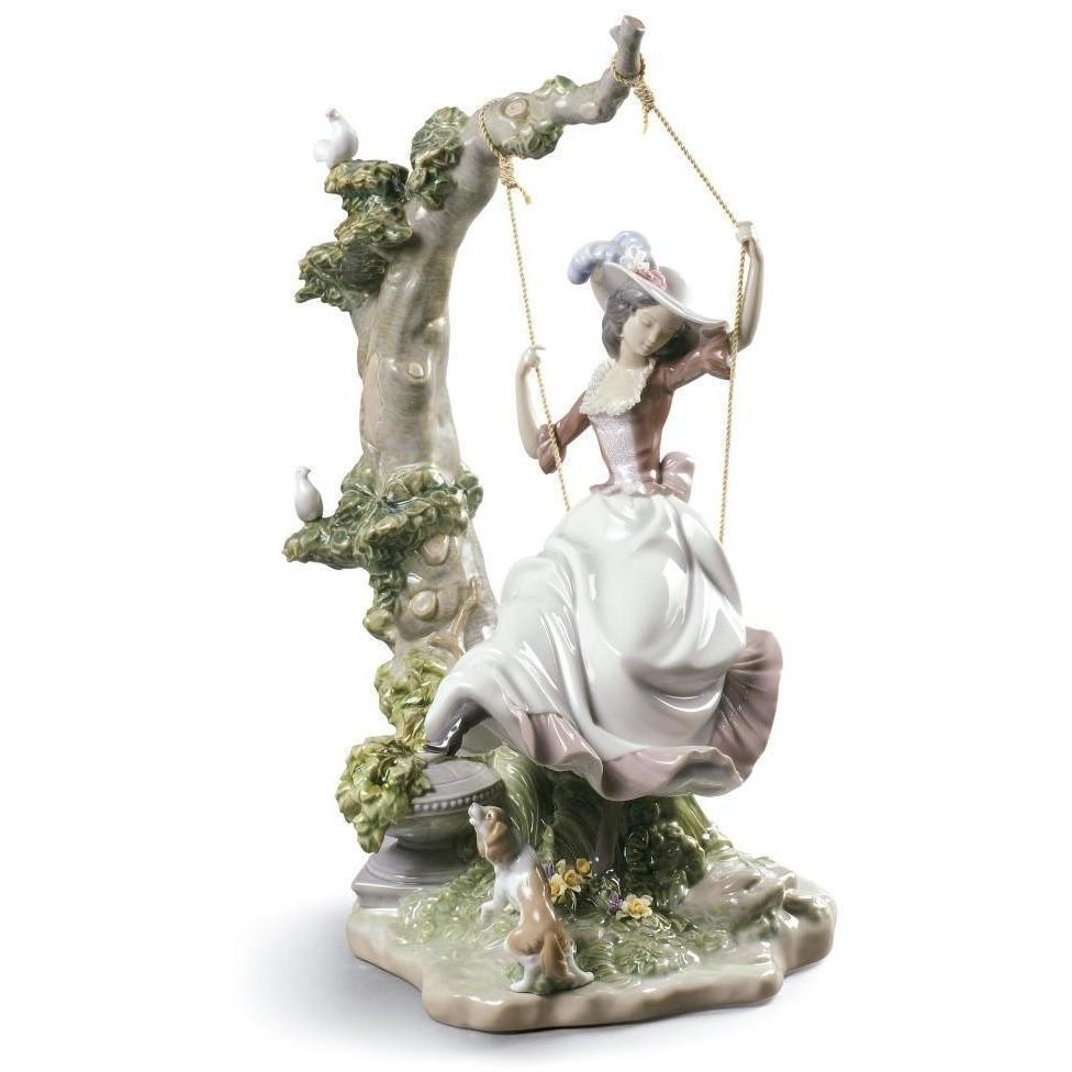 Lladro Swinging Figurine 01009163