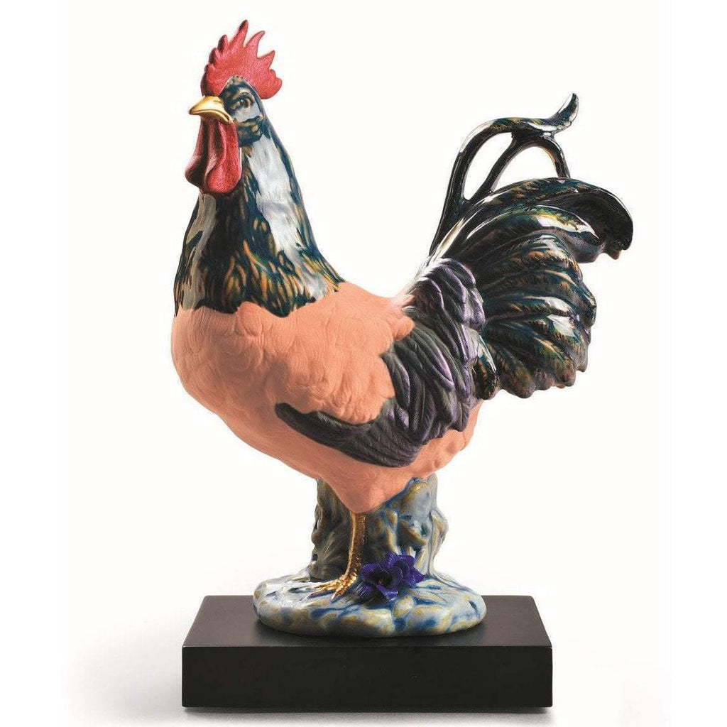 Lladro The Rooster Figurine 01009233