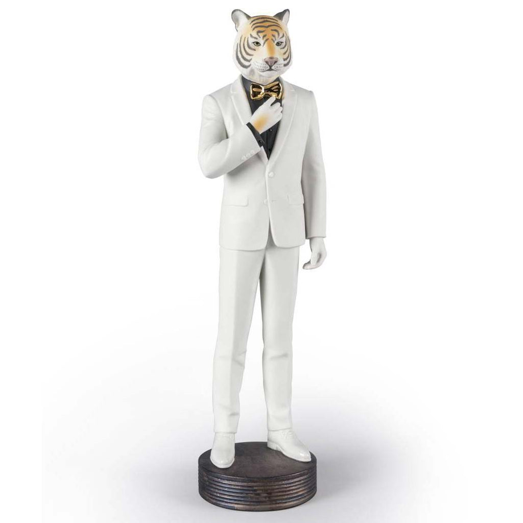 Lladro Tiger Man Figurine 01009429
