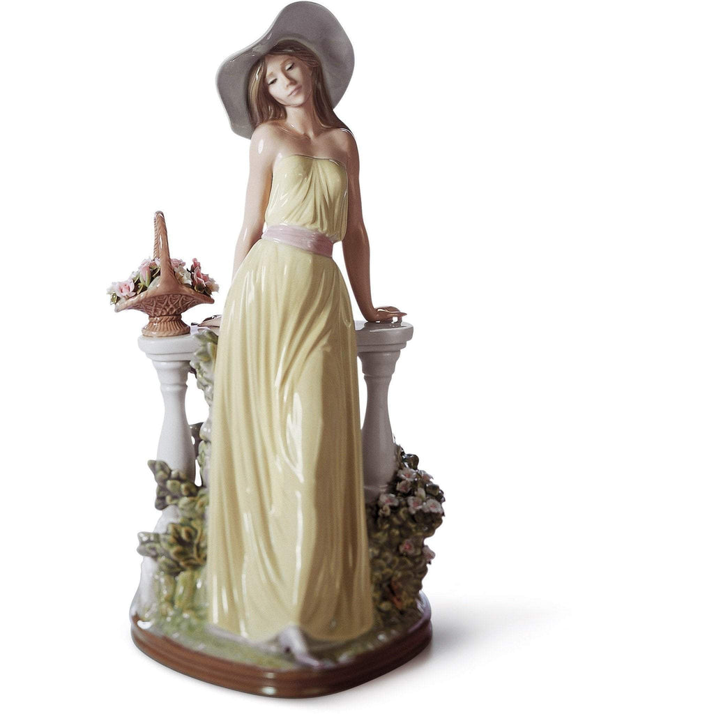 Lladro Time For Reflection Figurine 01005378