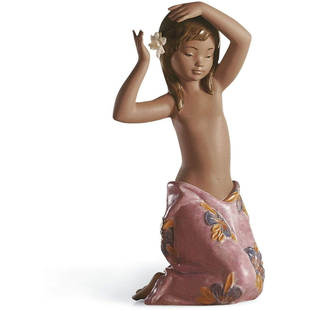 Lladro Tropical Flower Figurine 01012385