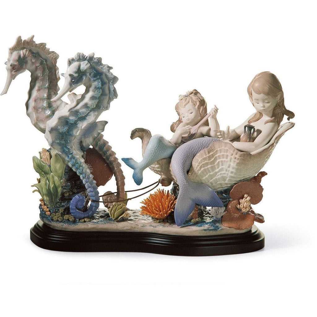 Lladro Underwater Journey Figurine 01006929