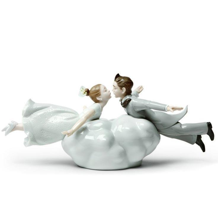 Lladro Wedding In The Air Couple Figurine 01009366