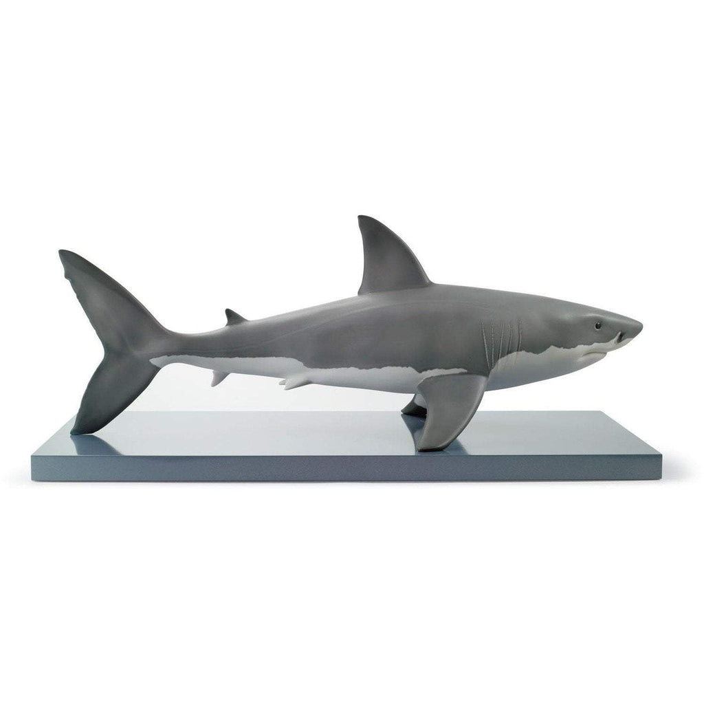 Lladro White Shark Figurine 01008470