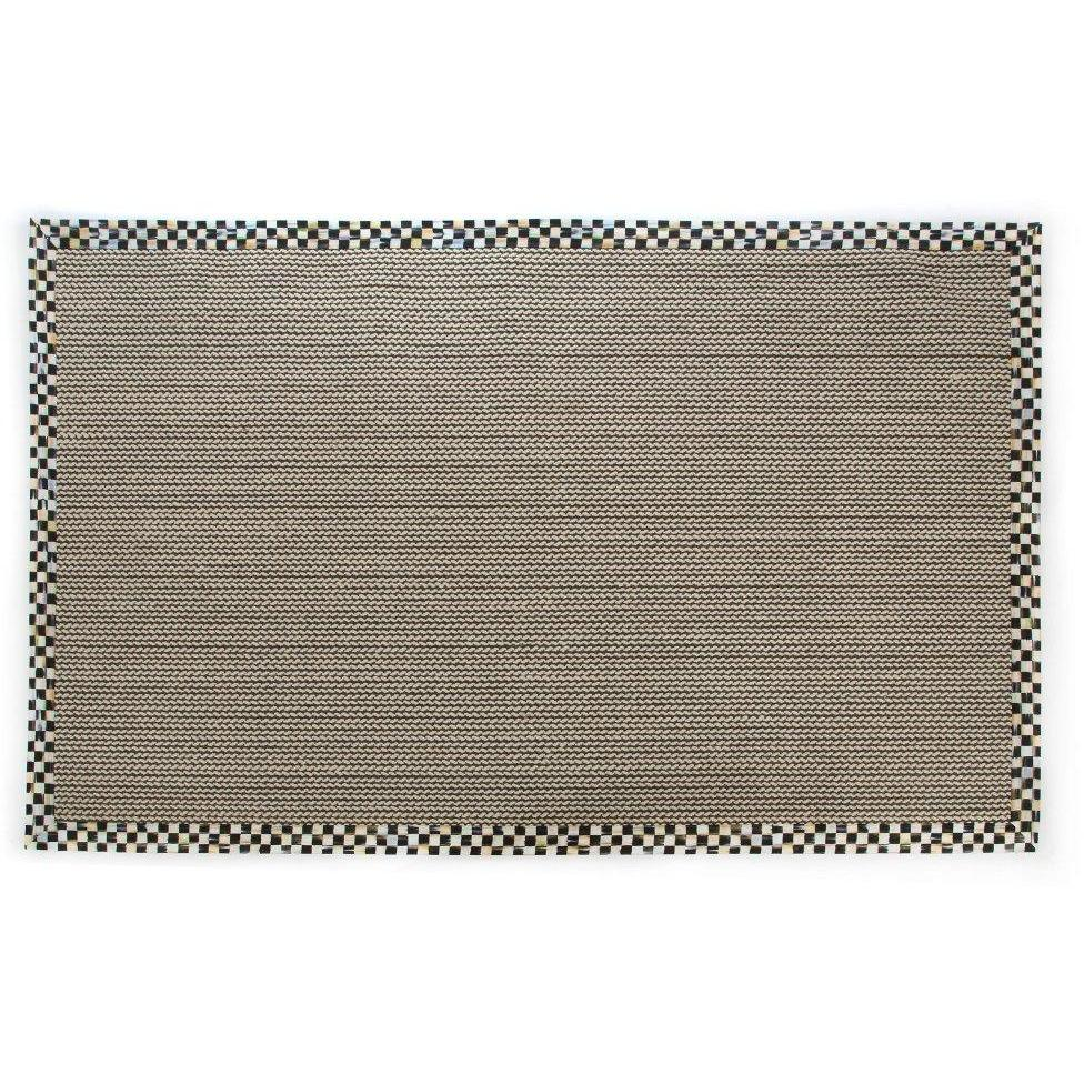 MacKenzie Childs Braided Wool Sisal Rug - 6 x 9