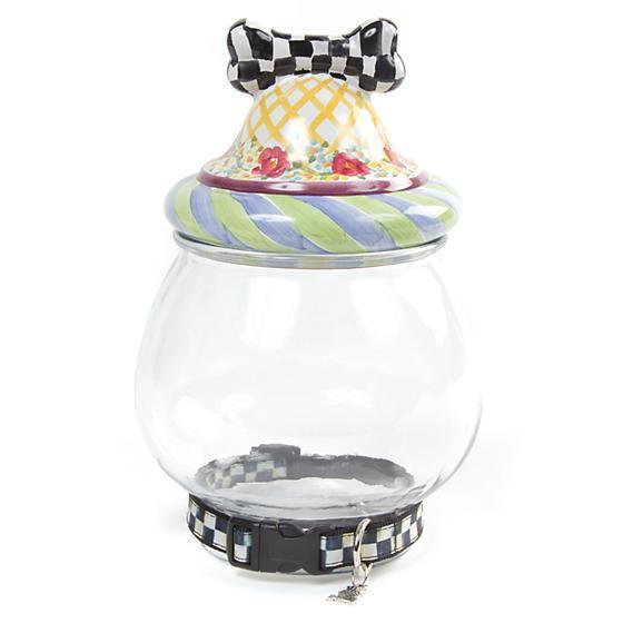MacKenzie Childs Canine Cookie Jar