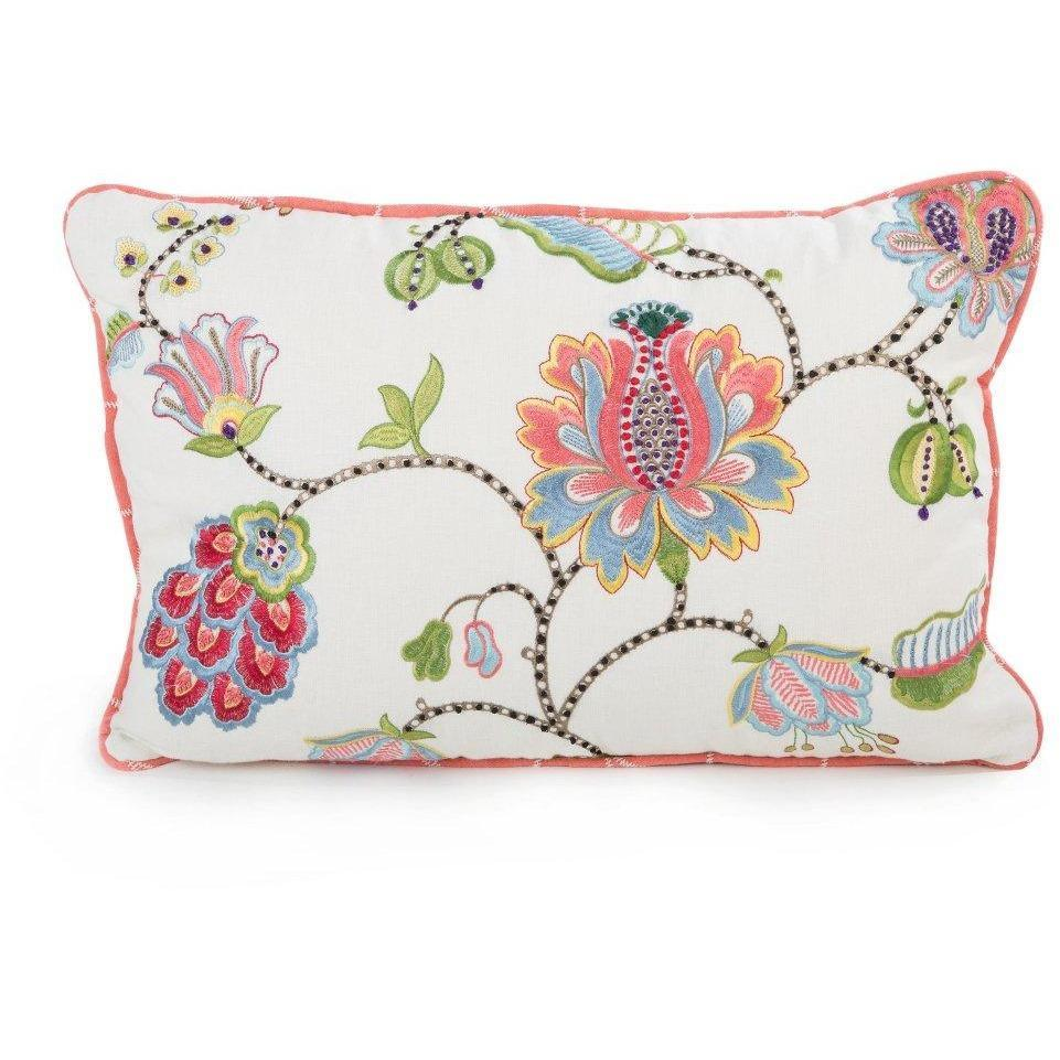 MacKenzie Childs Chelsea Garden Lumbar Pillow