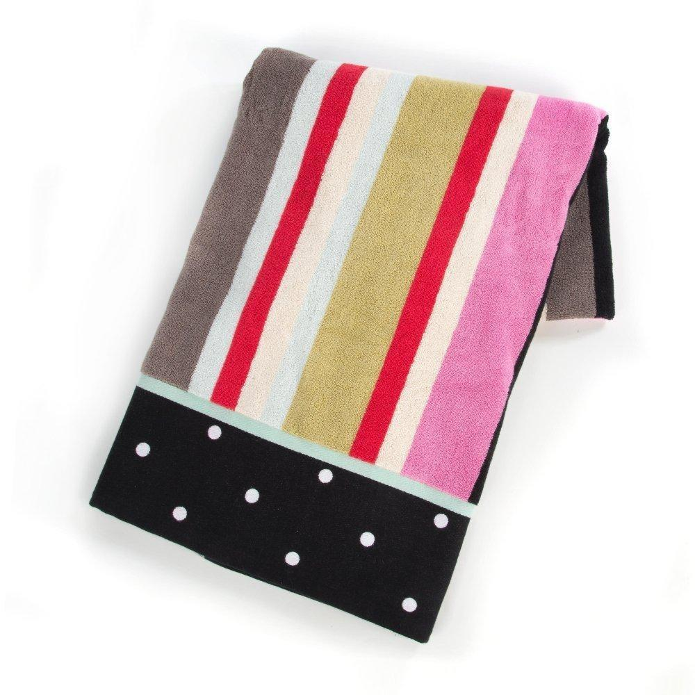 MacKenzie Childs Chelsea Stripe Bath Sheet