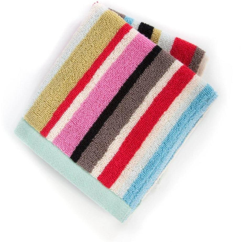 MacKenzie Childs Chelsea Stripe Washcloth