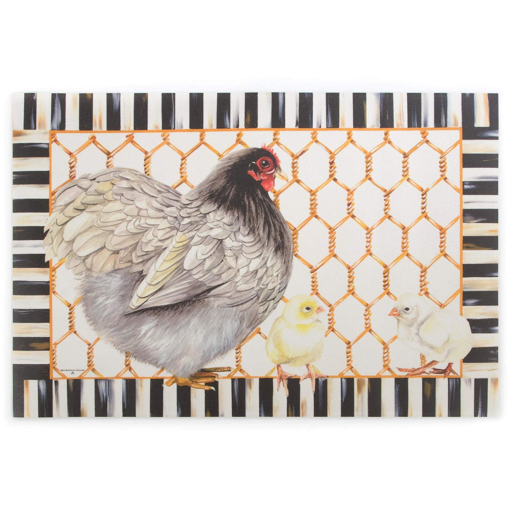 MacKenzie Childs Chicken Coup Mat