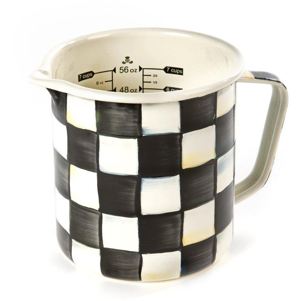 MacKenzie Childs Courtly Check 7 Cup Measuring Cup
