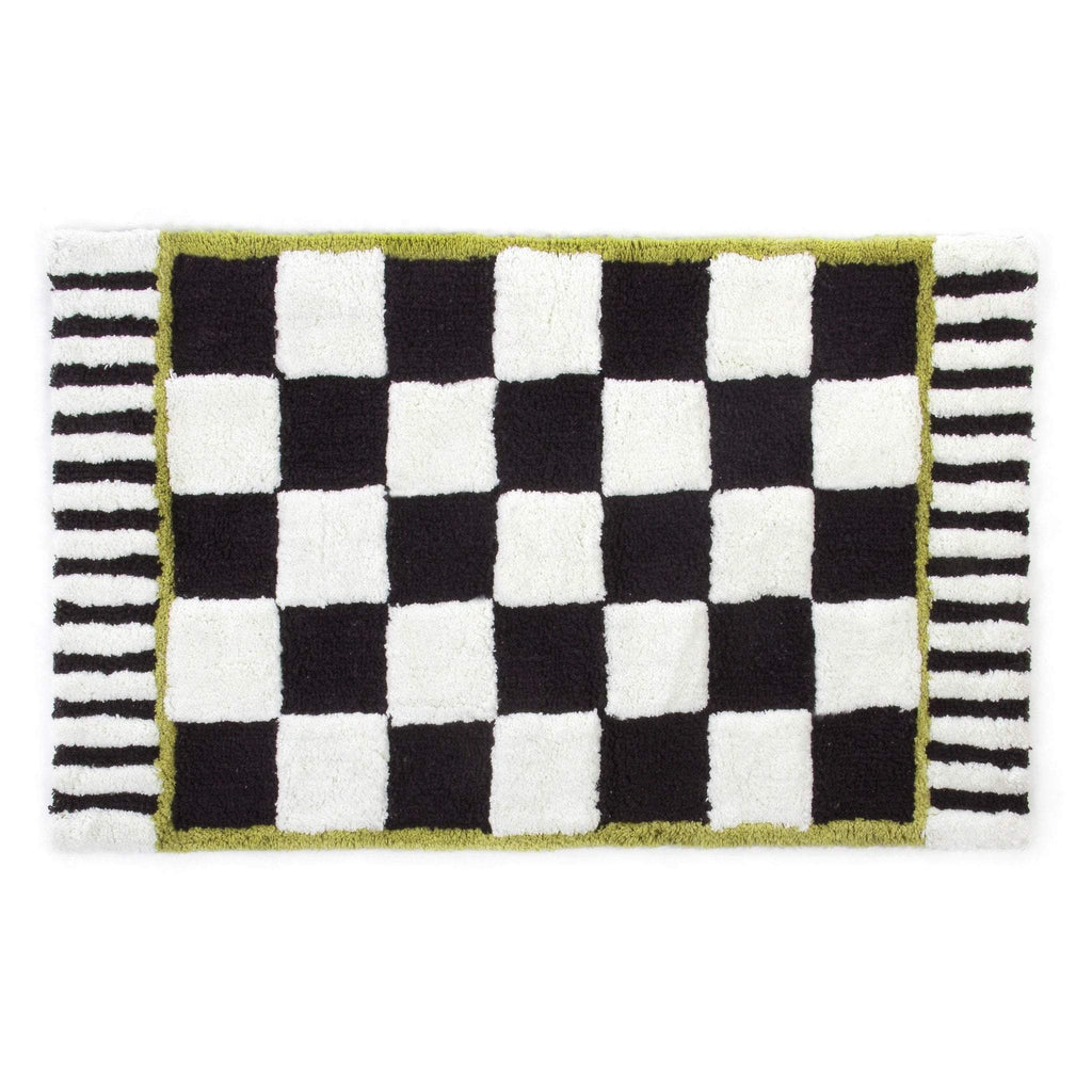 MacKenzie Childs Courtly Check Bath Mat