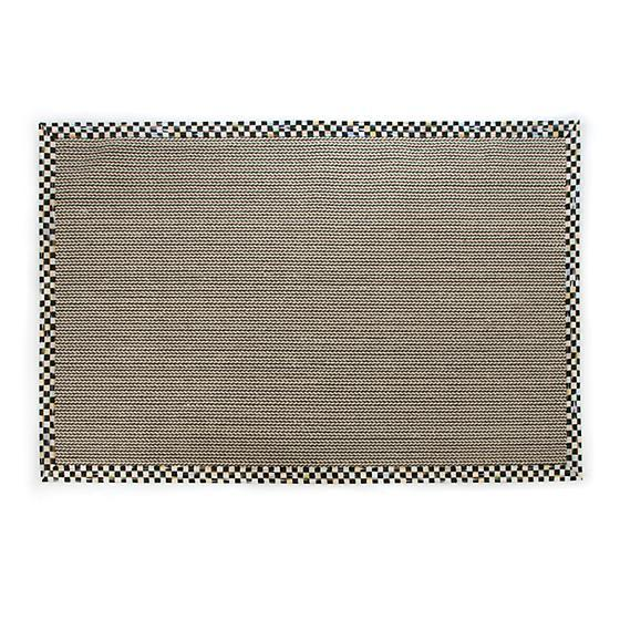 MacKenzie Childs Courtly Check Braid Sisal 3 x 5