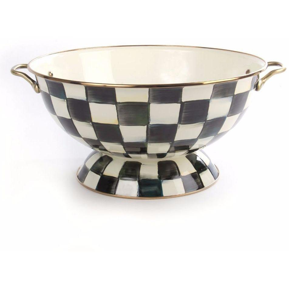 MacKenzie Childs Courtly Check Everything Bowl