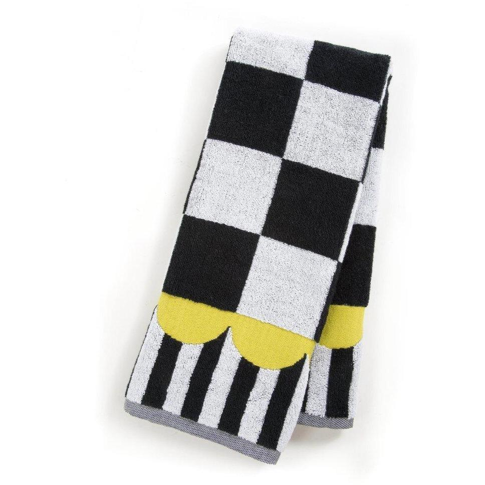 MacKenzie Childs Courtly Check Hand Towel