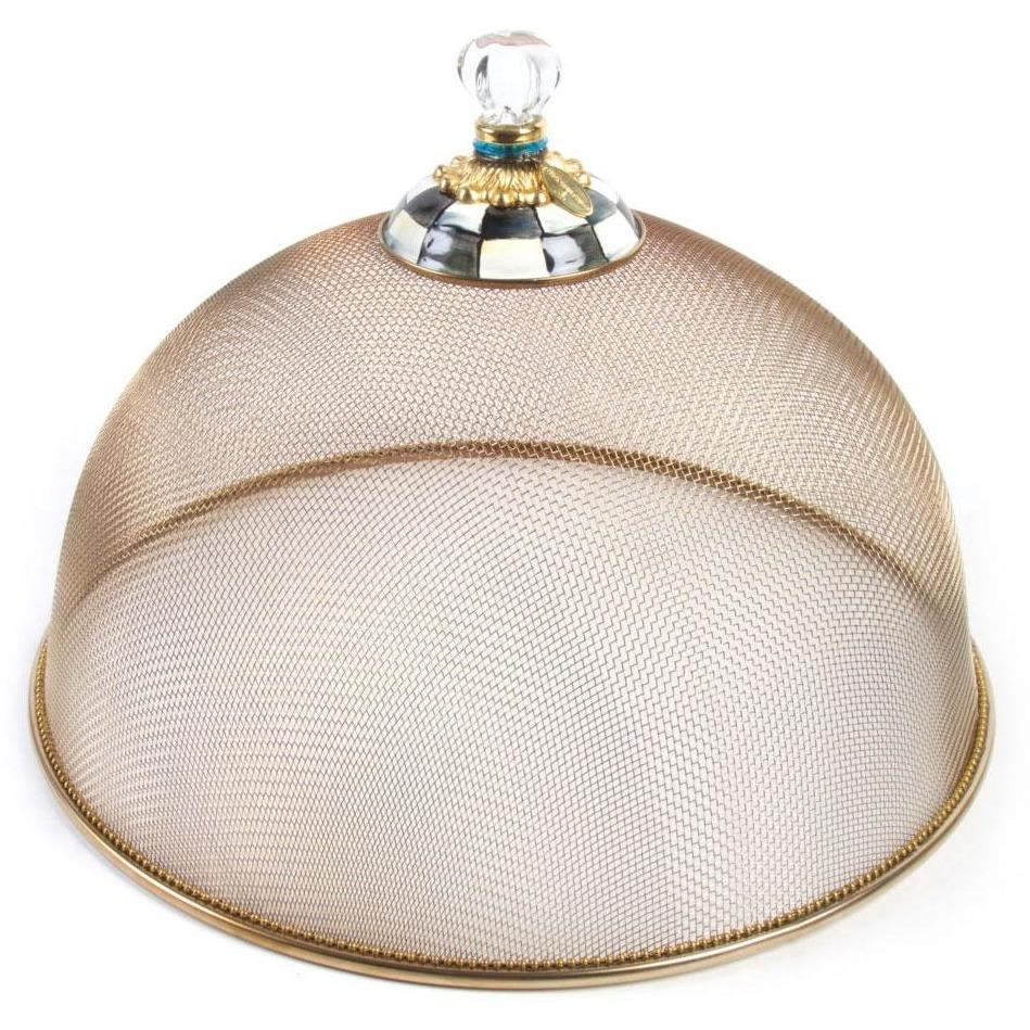 MacKenzie Childs Courtly Check Mesh Dome Large