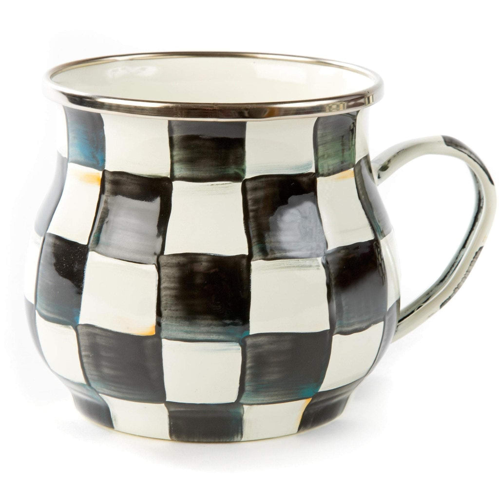 MacKenzie Childs Courtly Check Mug