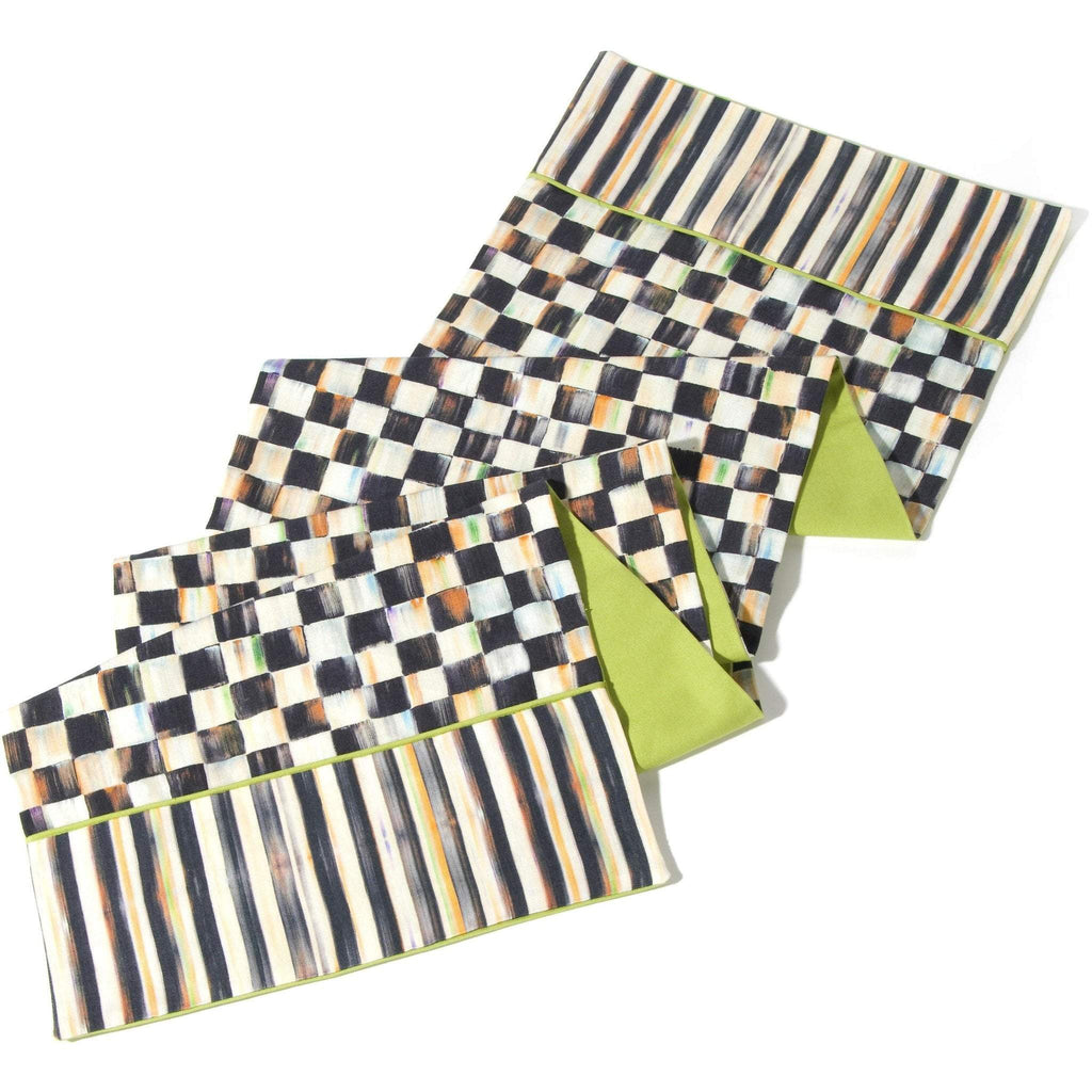 MacKenzie Childs Courtly Check Table Runner