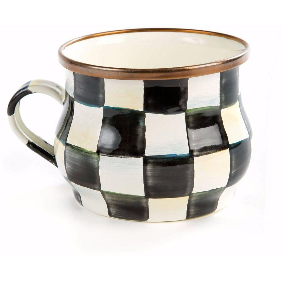 MacKenzie Childs Courtly Check Teacup