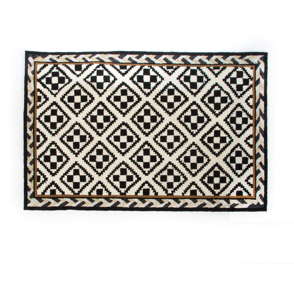 MacKenzie Childs Courtyard Outdoor Rug - 2 Ft