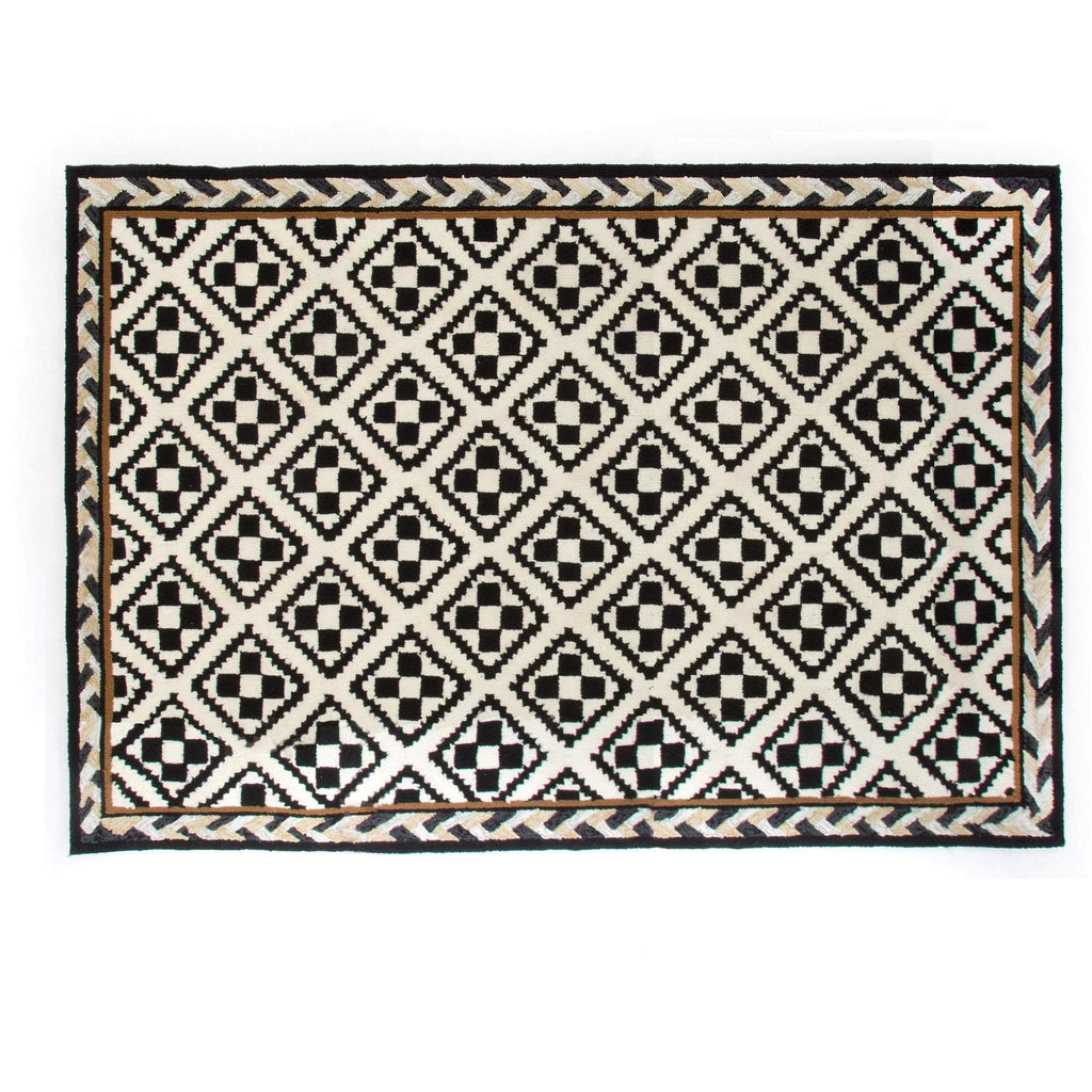 MacKenzie Childs Courtyard Outdoor Rug - 3 Ft