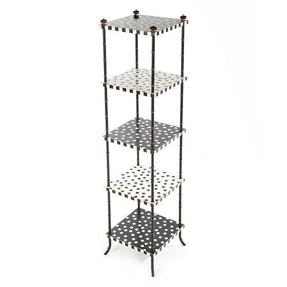 MacKenzie Childs Dot Table 5-Tier