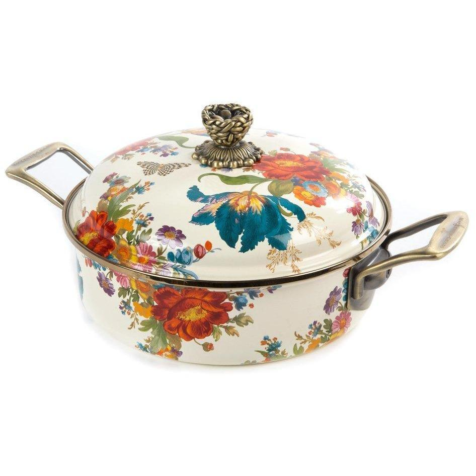 MacKenzie-Childs Flower Market 3 Quart Casserole
