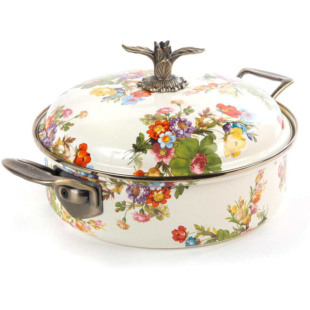 MacKenzie-Childs Flower Market 5 Quart Casserole