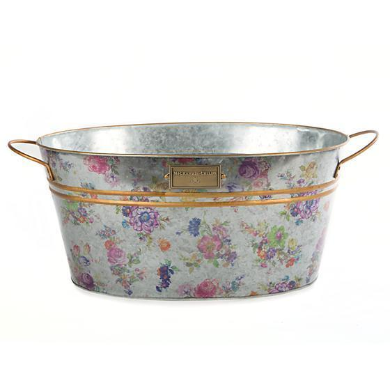MacKenzie Childs Flower Market Beverage Bucket