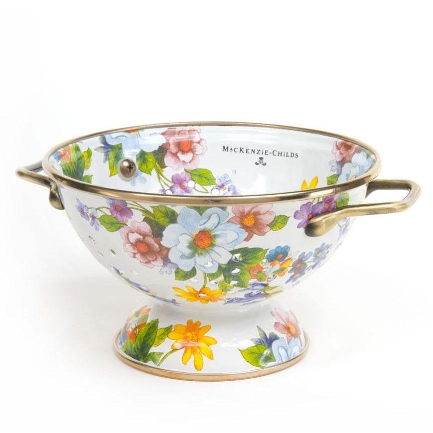 MacKenzie Childs Flower Market Colander Small