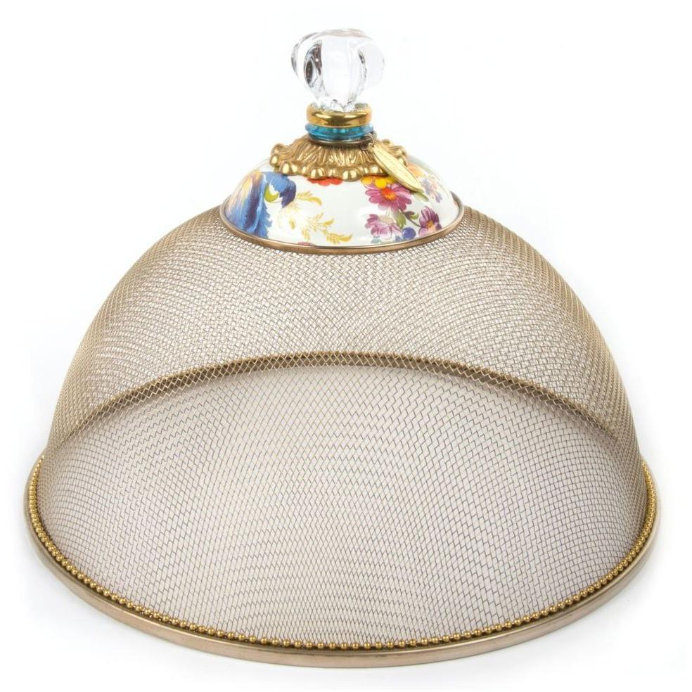 MacKenzie Childs Flower Market Mesh Dome Small