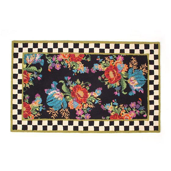 MacKenzie Childs Flower Market Rug 3 x 5