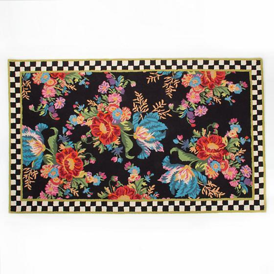 MacKenzie Childs Flower Market Rug - 5 Ft X 8 Ft