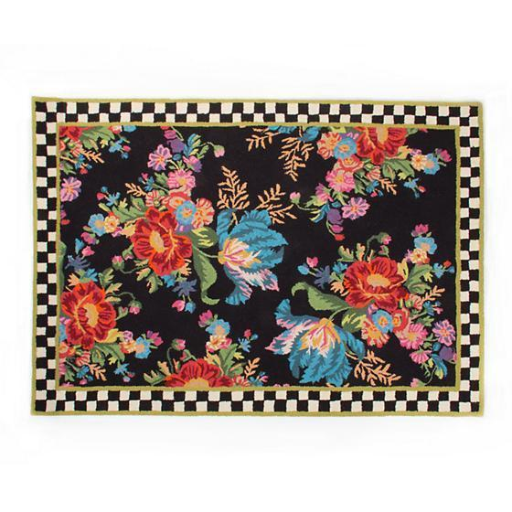 MacKenzie Childs Flower Market Rug 8 x 10