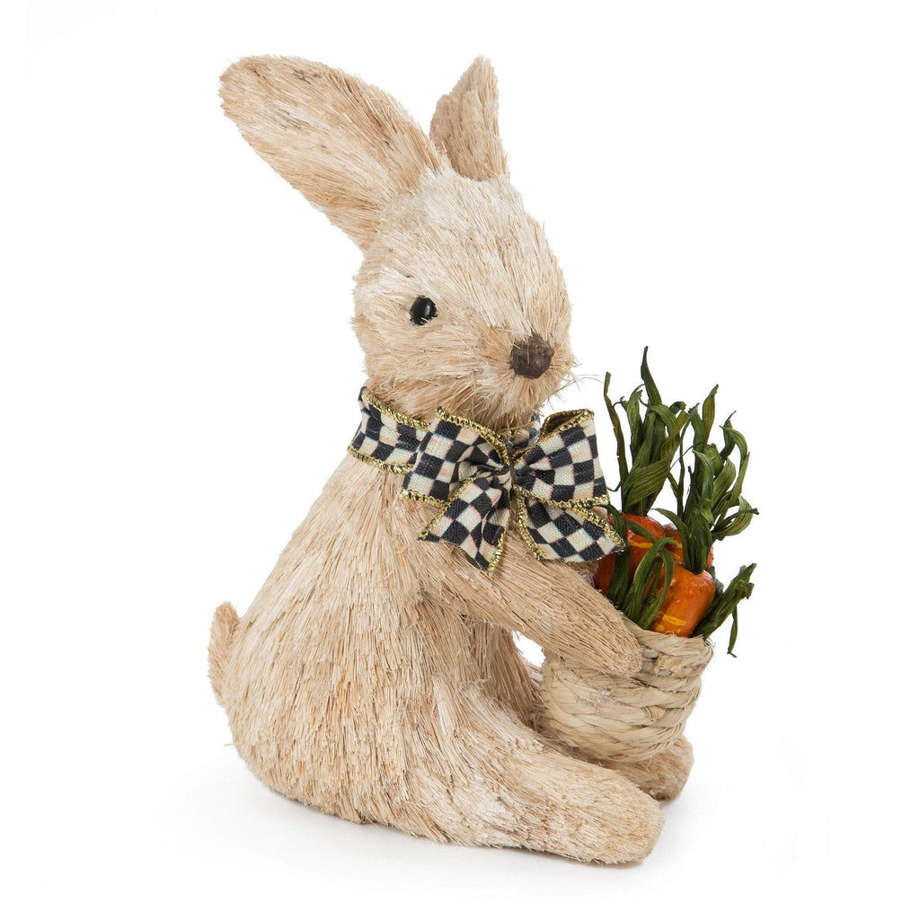 MacKenzie Childs Garden Patch Bunny Small