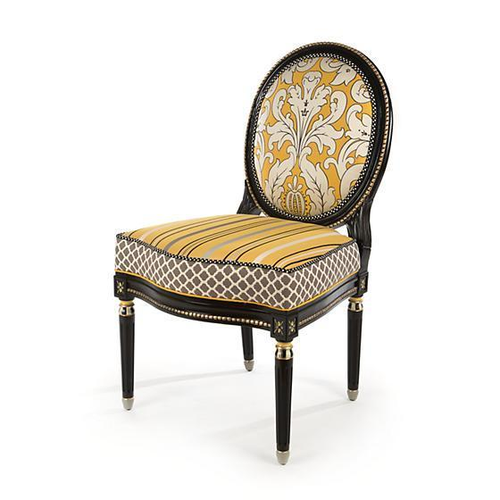 MacKenzie-Childs Queen Bee Side Chair