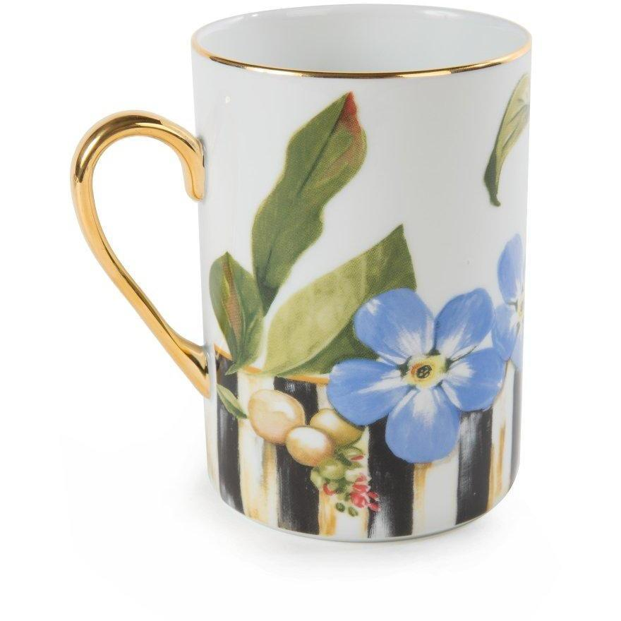 MacKenzie Childs Thistle & Bee Mug