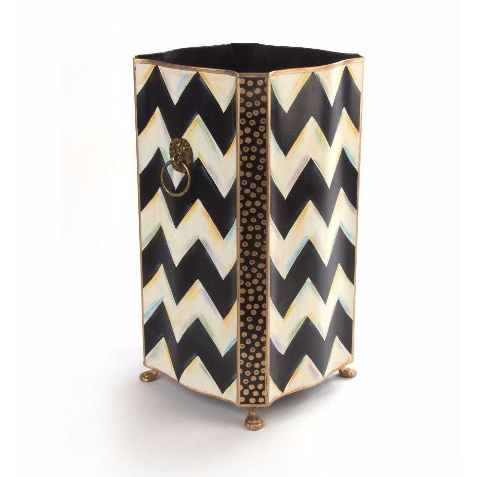 MacKenzie Childs Zig Zag Umbrella Stand