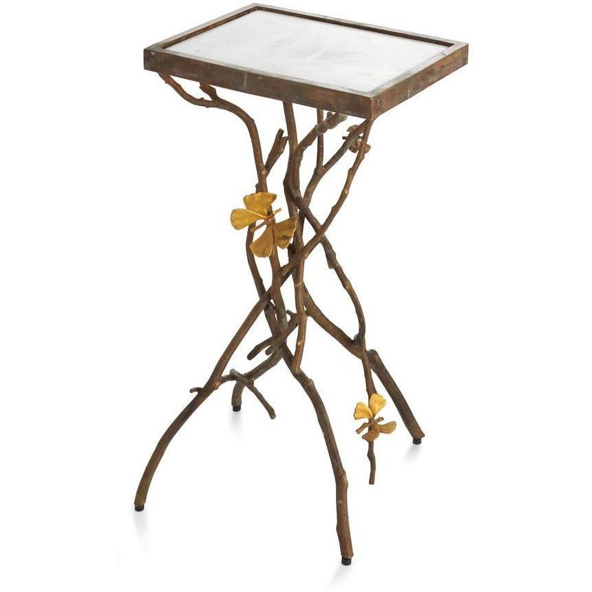 Michael Aram Butterfly Ginkgo Accent Table 411513