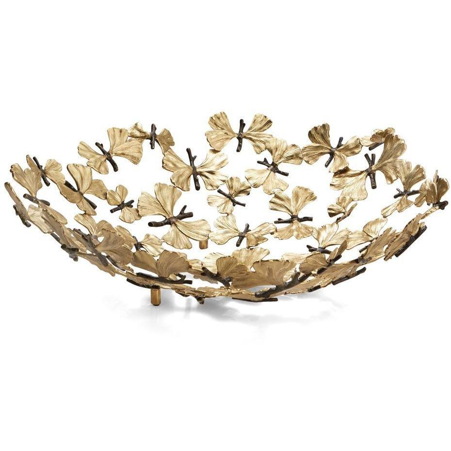 Michael Aram Butterfly Ginkgo Centerpiece Bowl 175769