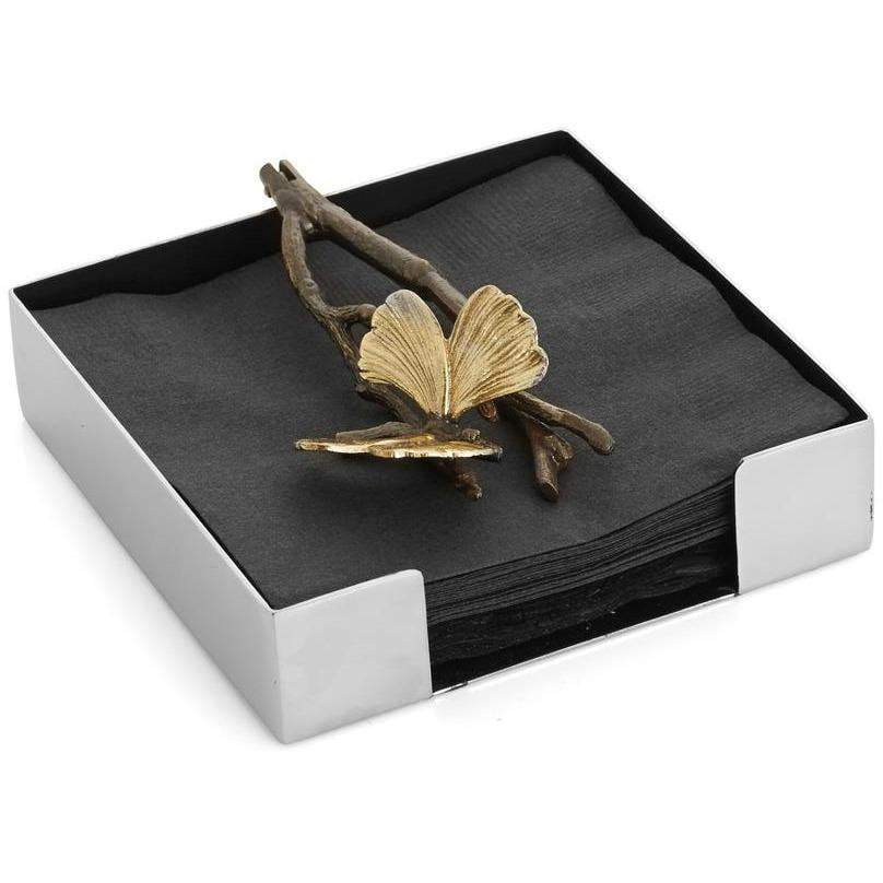 Michael Aram Butterfly Ginkgo Cocktail Napkin Holder 175787