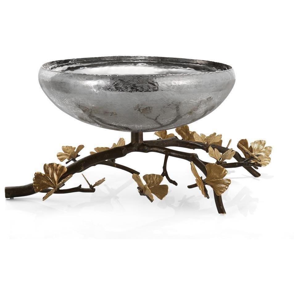 Michael Aram Butterfly Ginkgo Large Centerpiece Bowl  175783