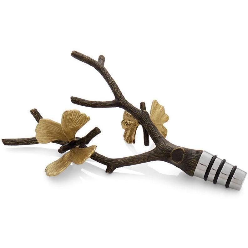 Michael Aram Butterfly Ginkgo Wine Stopper 175764
