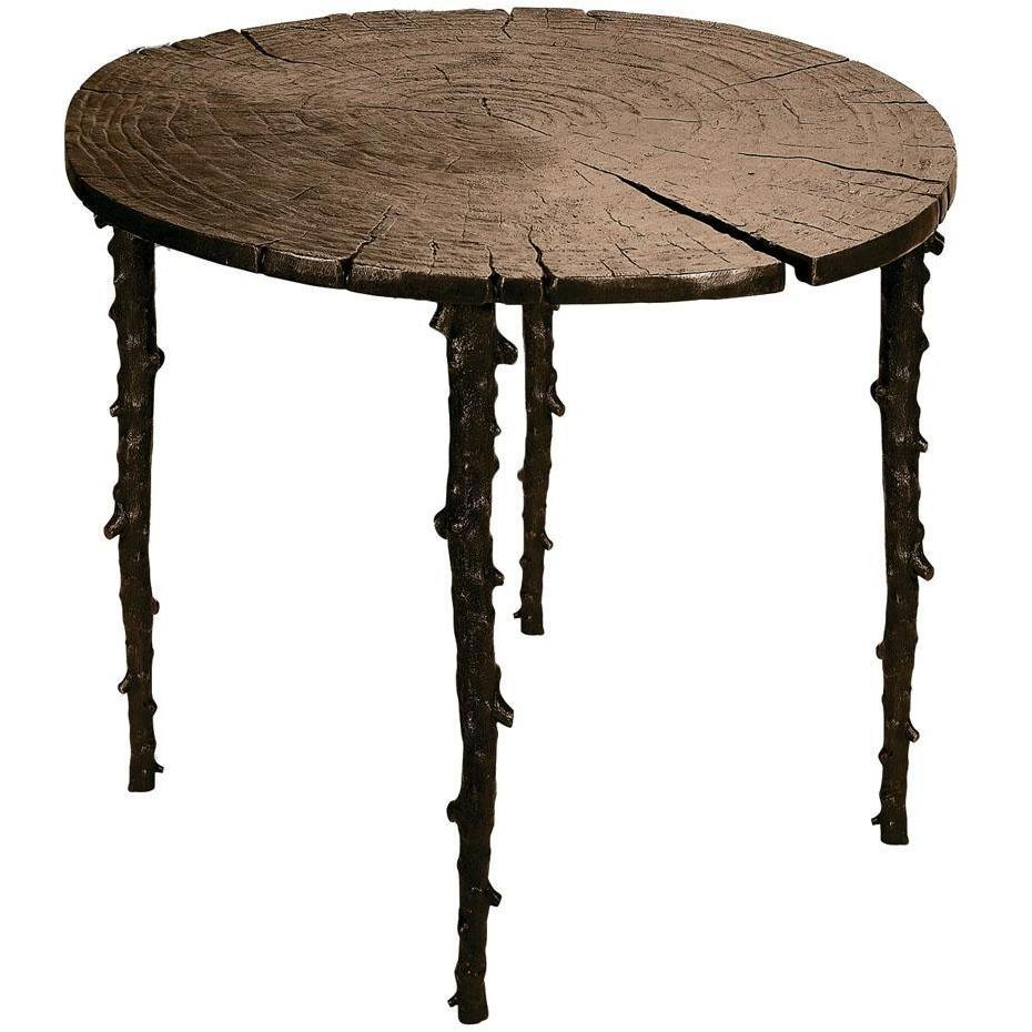 Michael Aram Enchanted Forest Cafe Table Oxidized 110044
