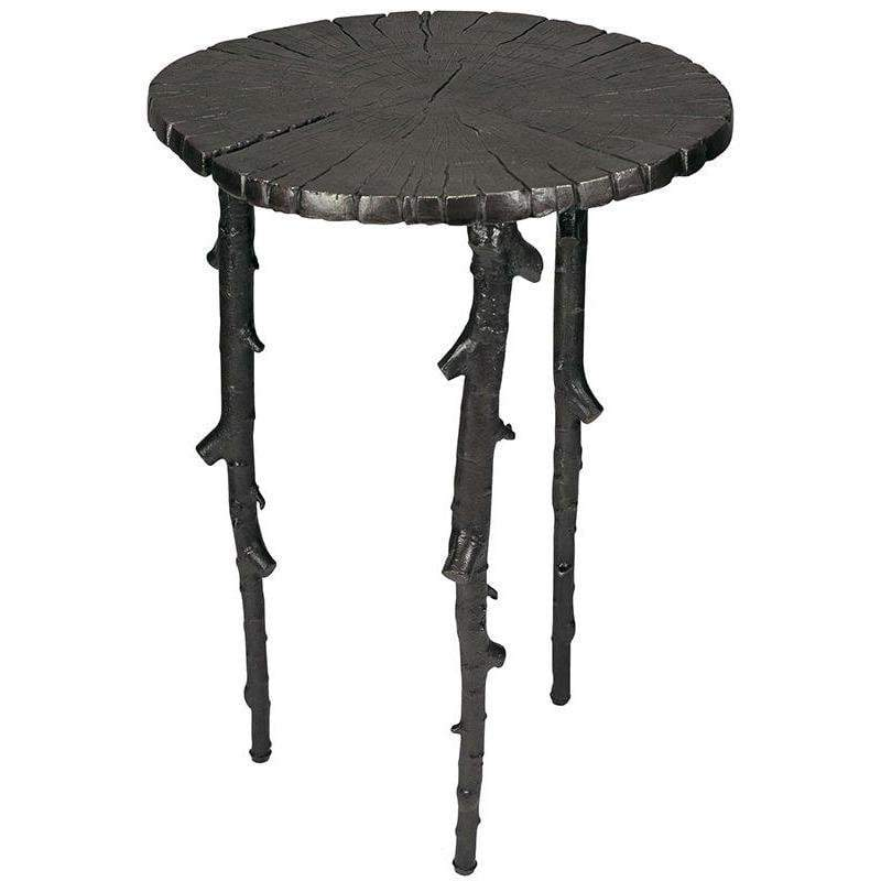Michael Aram Enchanted Forest Side Table Oxidized 110051
