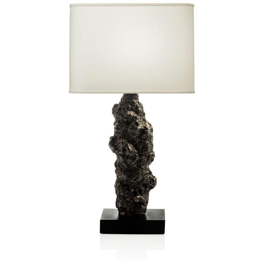 Michael Aram Meteorite Table Lamp Black Nickelplate 411408