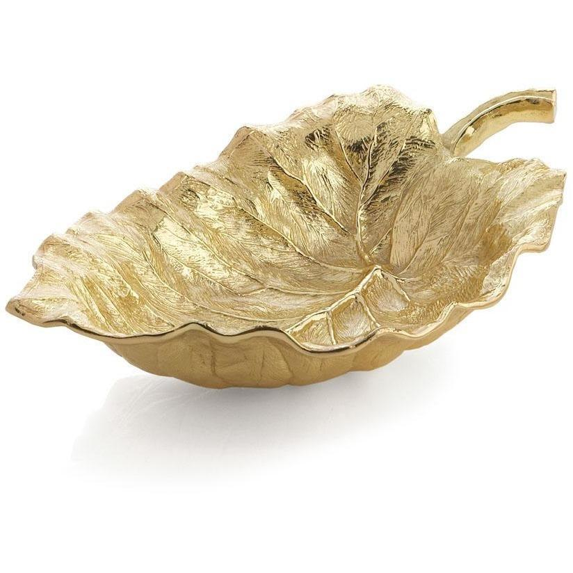 Michael Aram New Leaves Elephant Ear Large Serving Bowl 175650