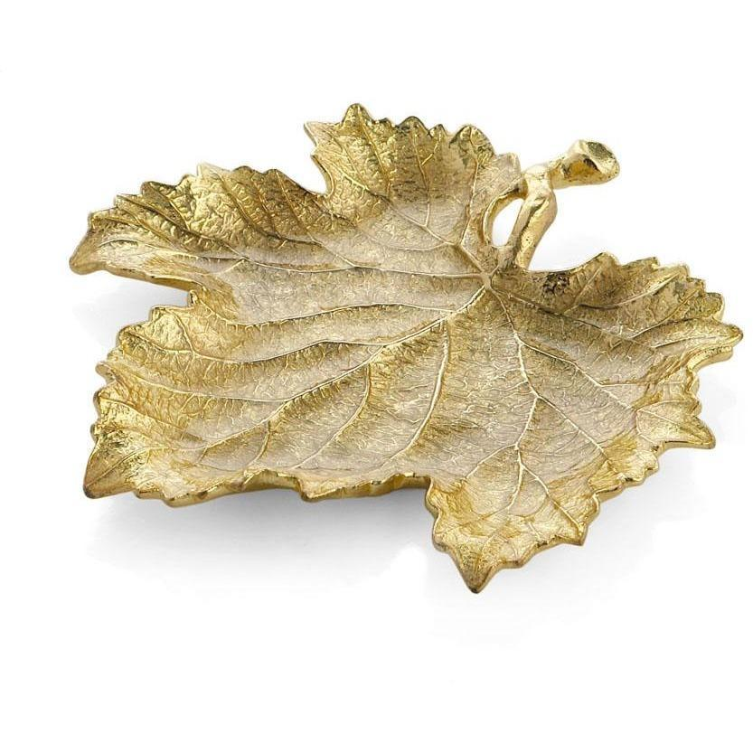 Michael Aram New Leaves Grape Leaf Snack Plate 175652